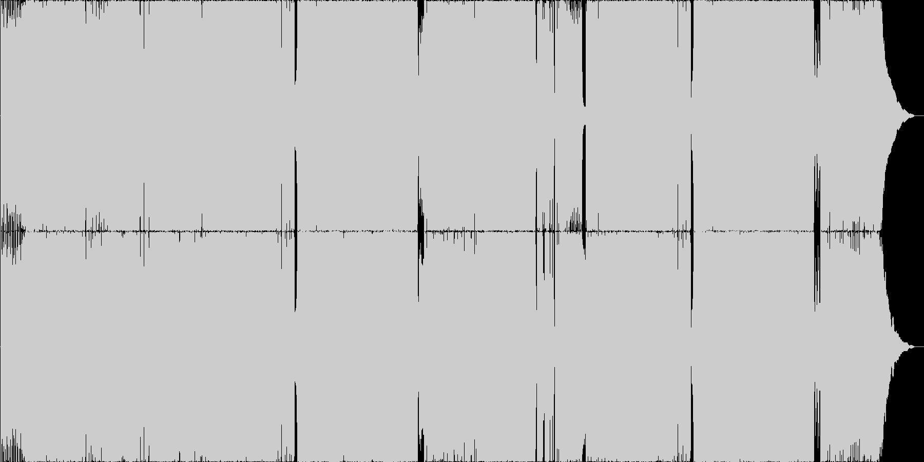 Live映えするロック Ver2の未再生の波形