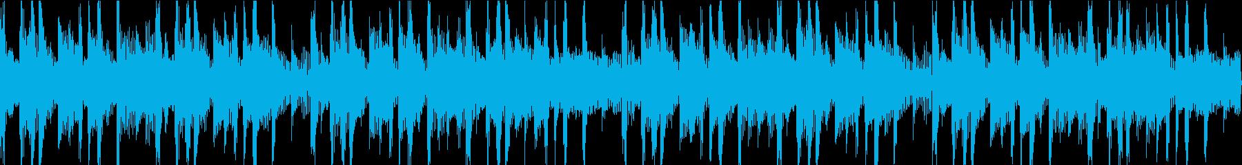 クールなエレピとファンキーなノリの曲の再生済みの波形