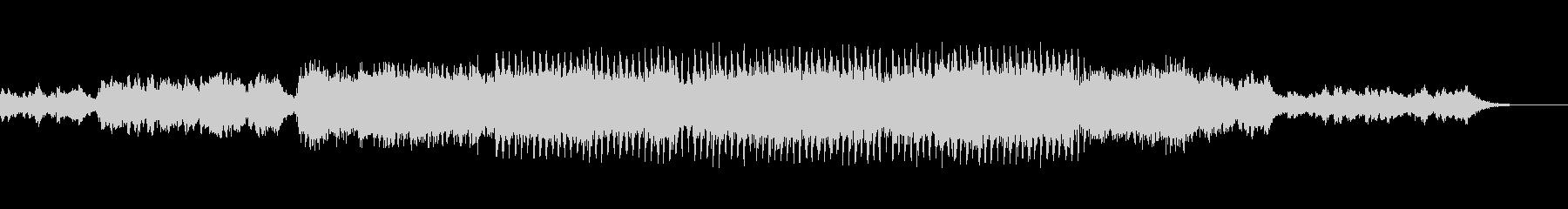 神秘的で響きがかっこいいメロディーの未再生の波形