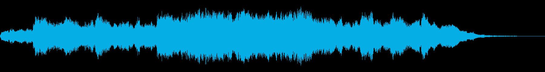 ディズニ―映画に採用されそうなイメージ曲の再生済みの波形