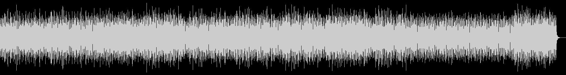 スリリング 重低硬ピアノ うねるシンセの未再生の波形