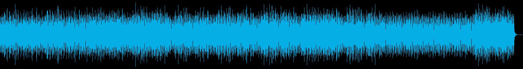 スリリング 重低硬ピアノ うねるシンセの再生済みの波形