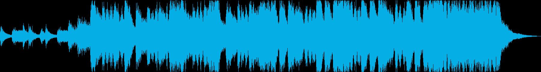 盛大なオープニングファンファーレaの再生済みの波形