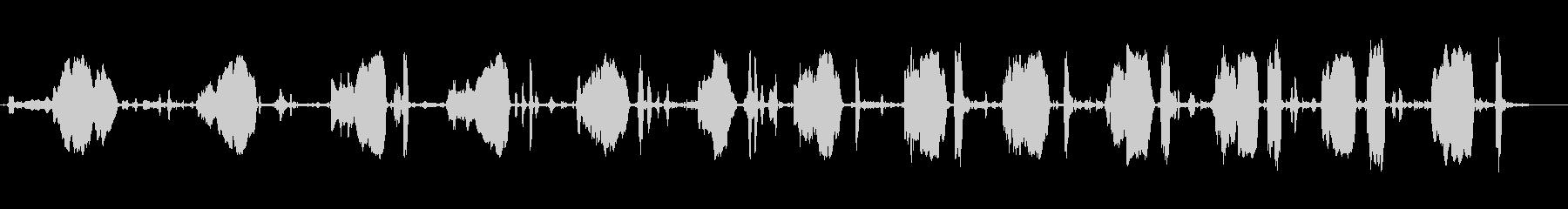 スクイーキーメタルホイールアクスル...の未再生の波形