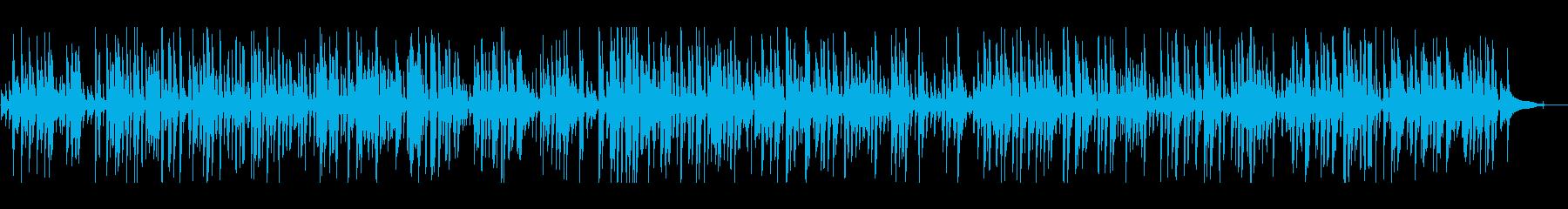おしゃれオールドスタイルジャズピアノの再生済みの波形