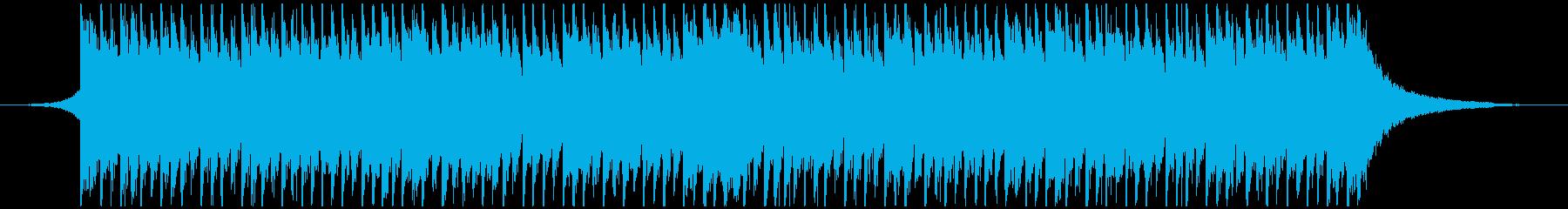 ハッピー・アップビート(短)の再生済みの波形