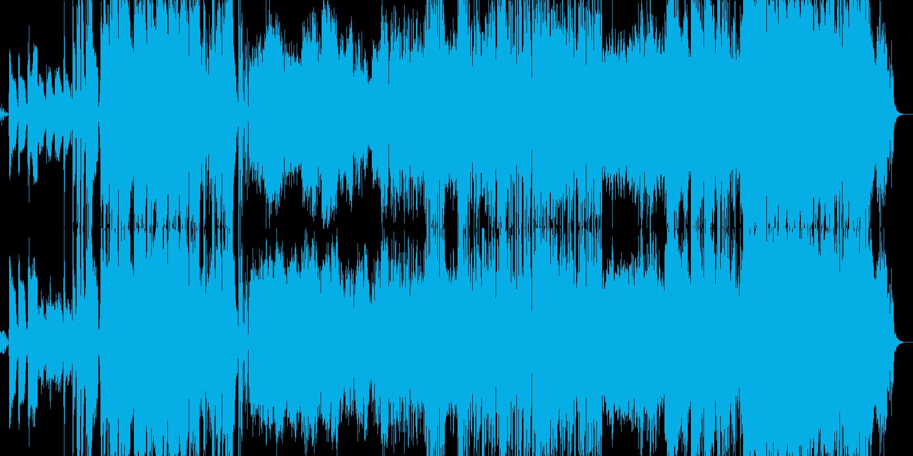 機械的・オープニング・ピアノの再生済みの波形