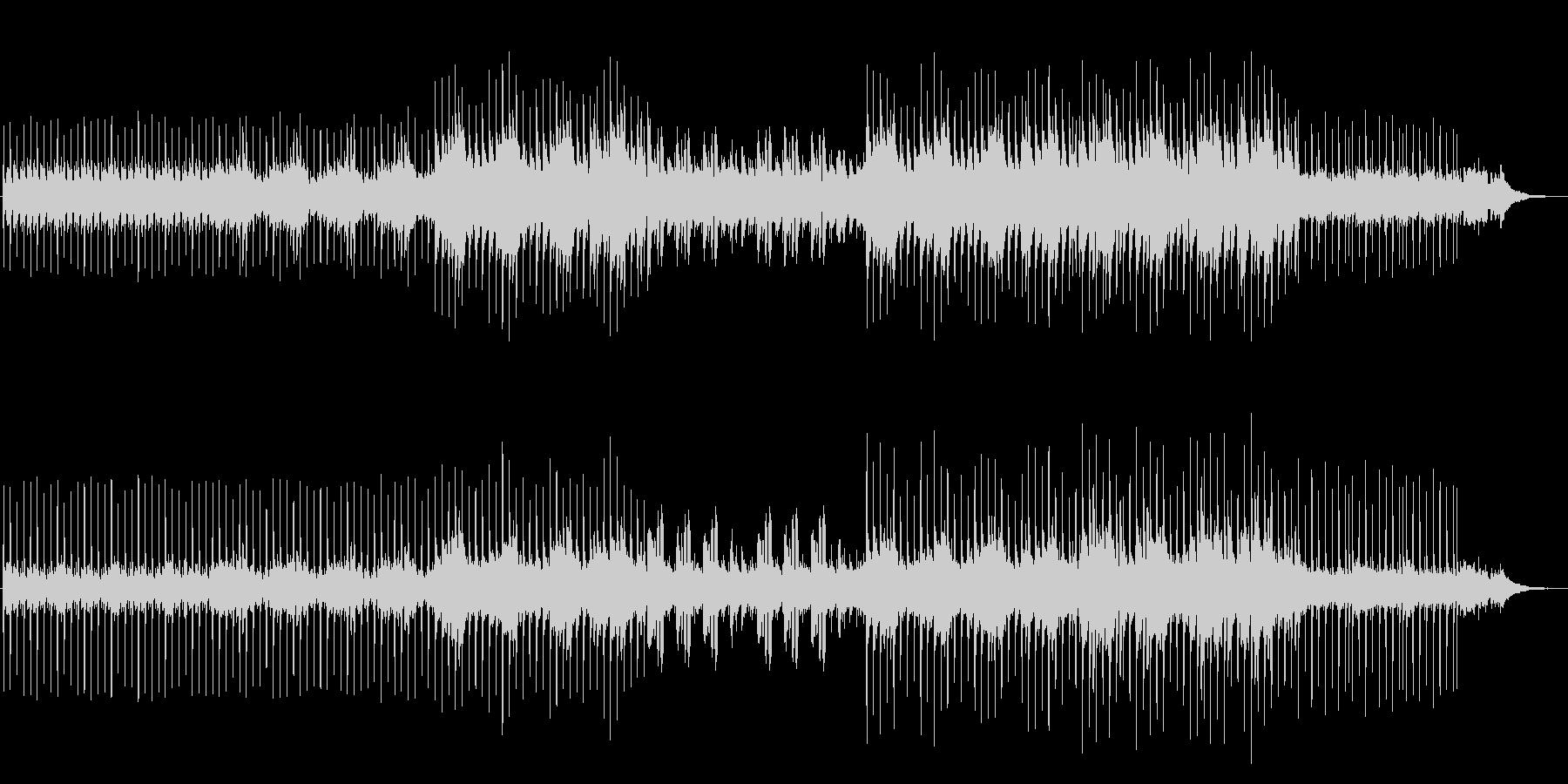 アコギのハーモニー しっとり大人な雰囲気の未再生の波形
