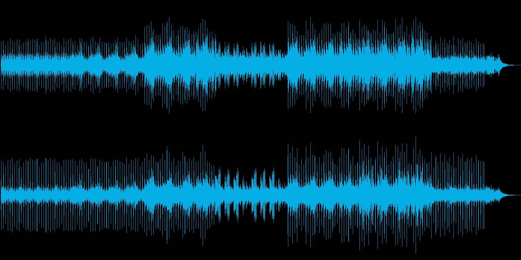 アコギのハーモニー しっとり大人な雰囲気の再生済みの波形