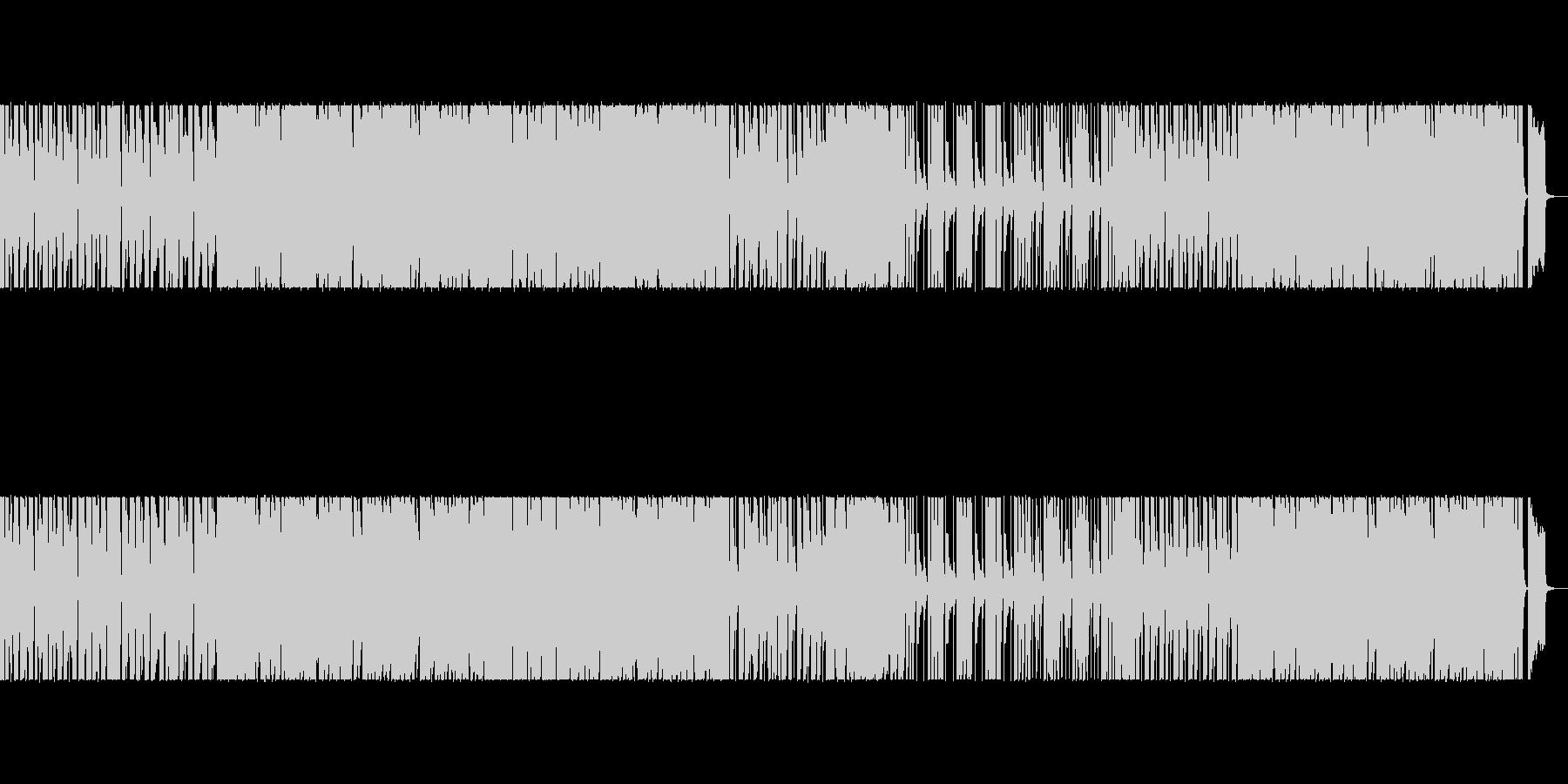軽快でワクワクするかわいパズルエレクトロの未再生の波形
