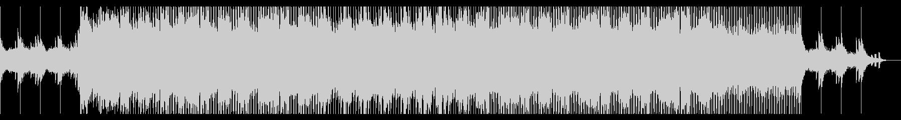 疾走感のある和風ピアノドラムンベースの未再生の波形