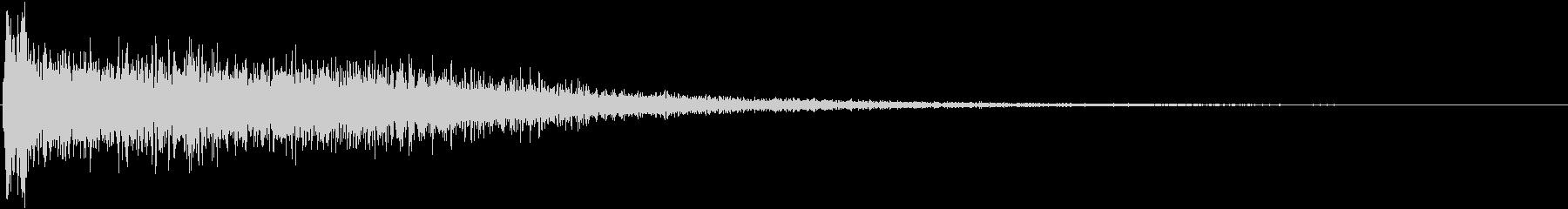 音楽ロゴ;ハードピアノティンクル付...の未再生の波形