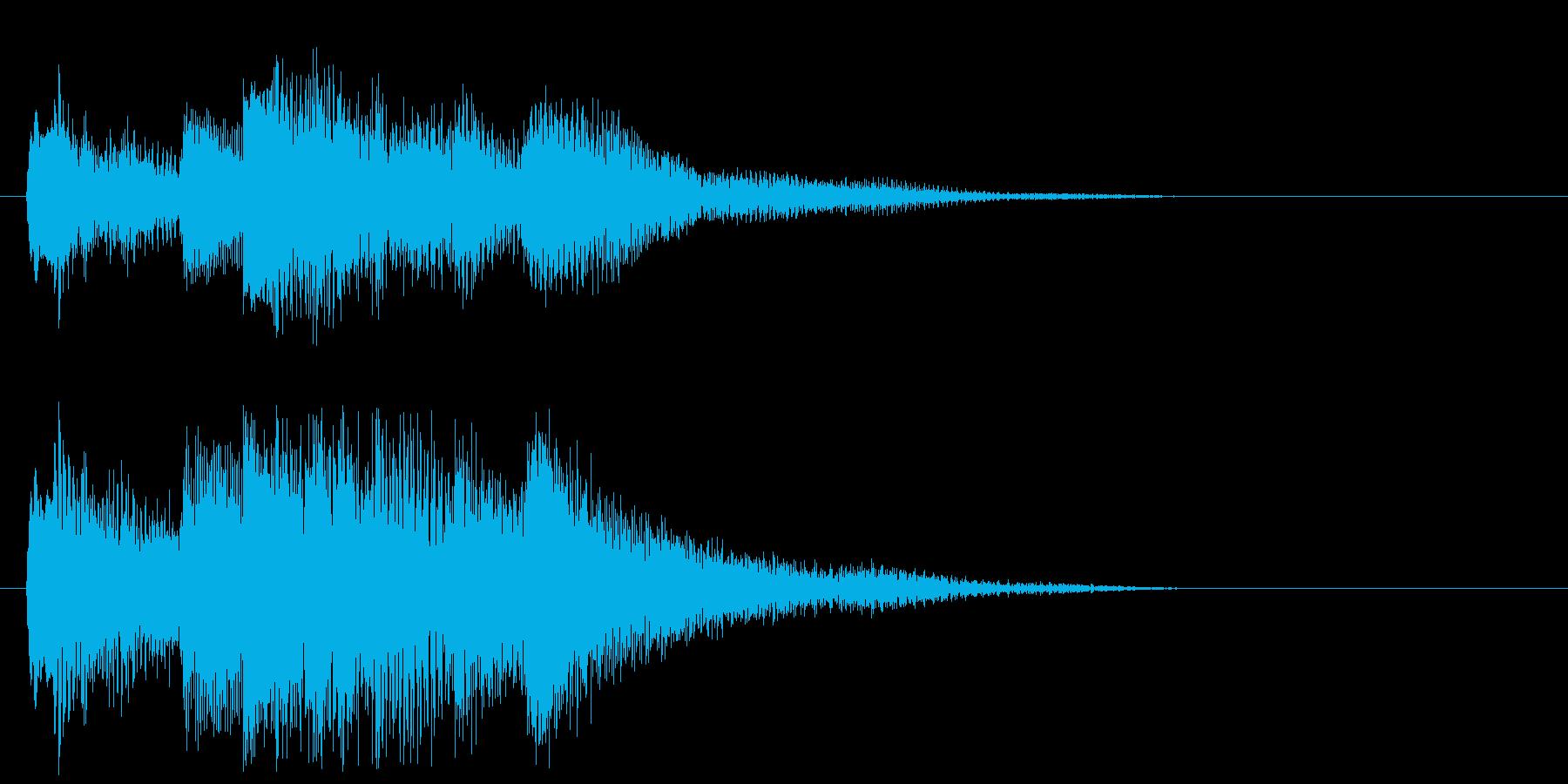 邦楽_琴_インパクトの再生済みの波形