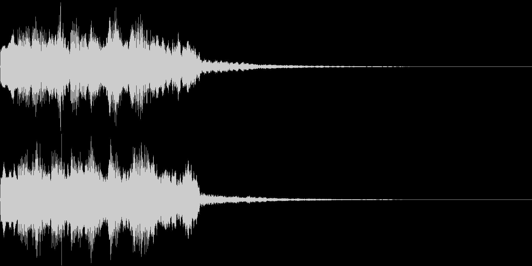 DOREMI ドレミ音階 キラキラFX4の未再生の波形