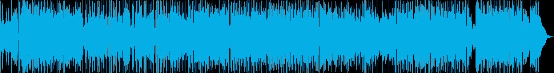ブラス主体、バンド編成のオープニング曲の再生済みの波形