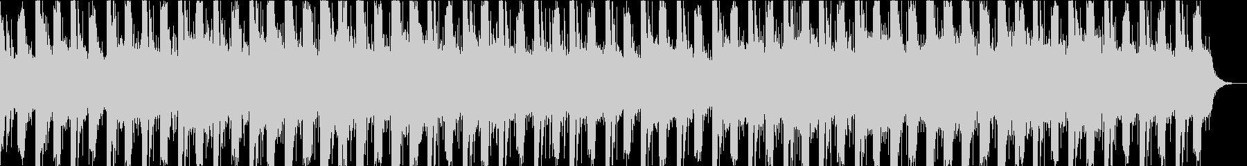 不思議な雰囲気のエレクトロ 映像向けの未再生の波形