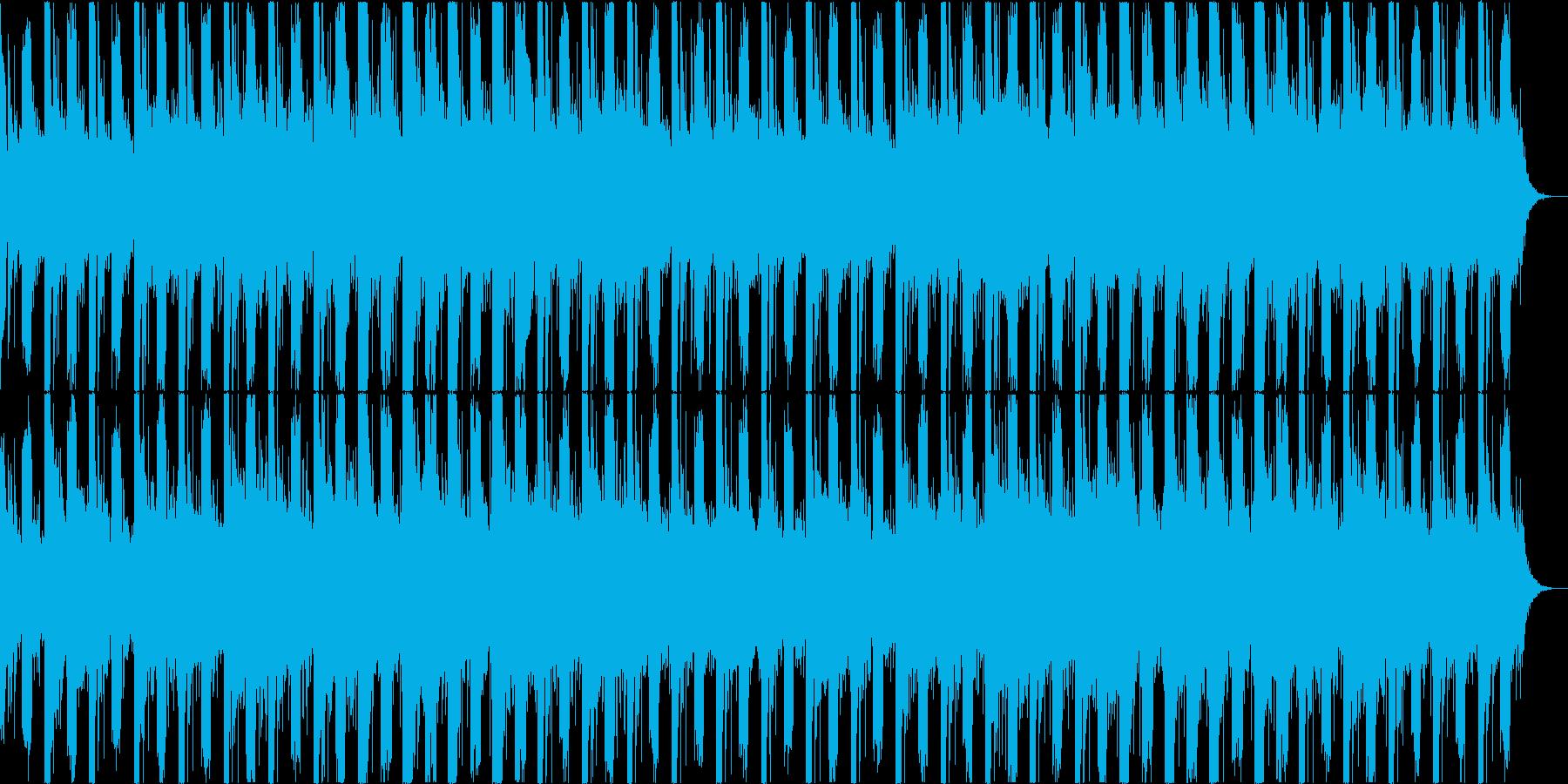 不思議な雰囲気のエレクトロ 映像向けの再生済みの波形