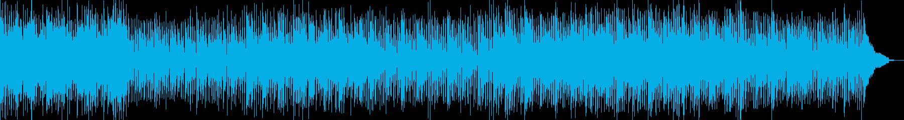 陽気でポップなポップロックインスト...の再生済みの波形