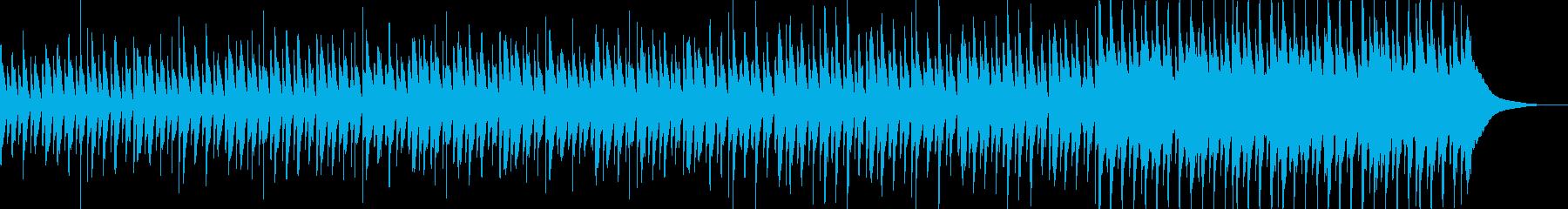 CM、ハッピーでかわいいアコースティックの再生済みの波形