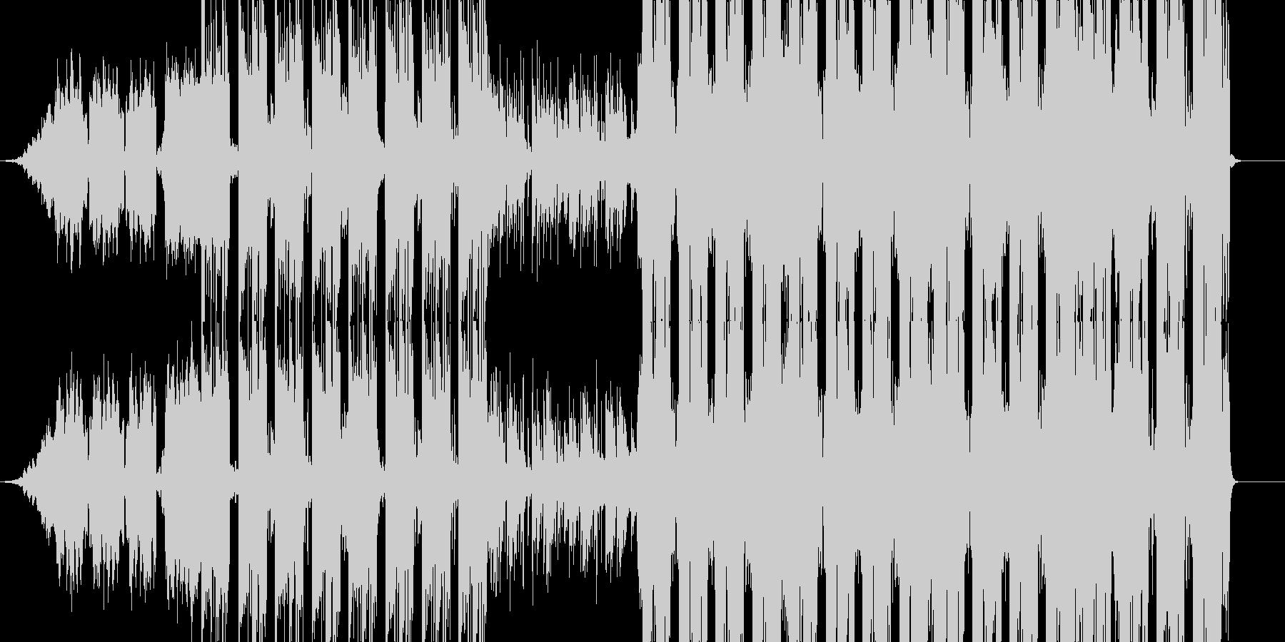 エモい洋楽/Kpop系のトラックの未再生の波形