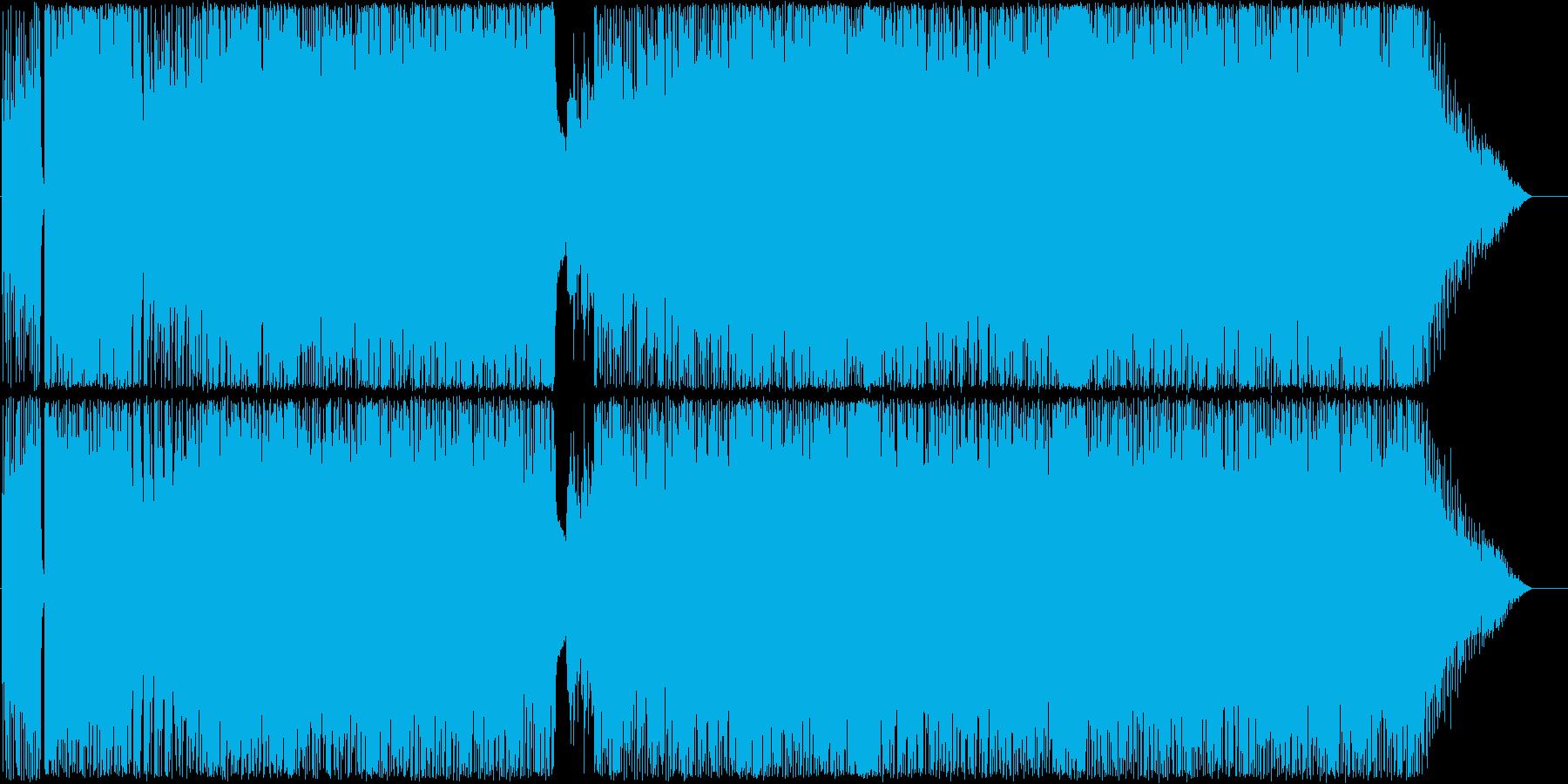 赤いスカーフの行方の再生済みの波形