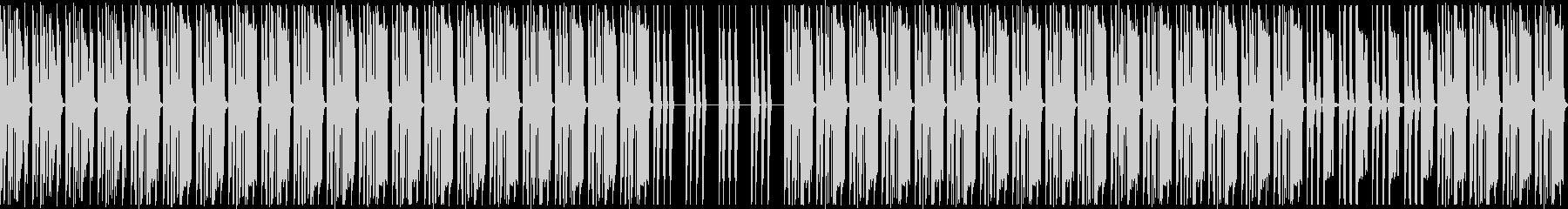 削ぎ落としたローファイスローダウンビートの未再生の波形