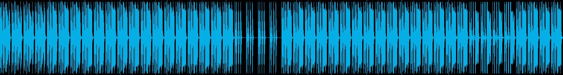 削ぎ落としたローファイスローダウンビートの再生済みの波形