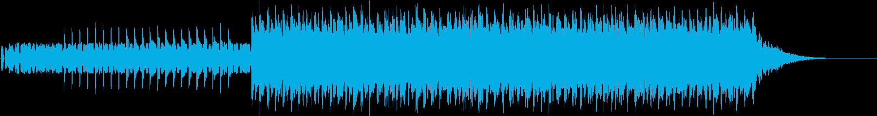 綺麗なシンセリードの再生済みの波形