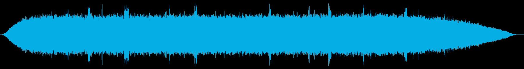 ノイズ (ザーッ+プツプツ)の再生済みの波形