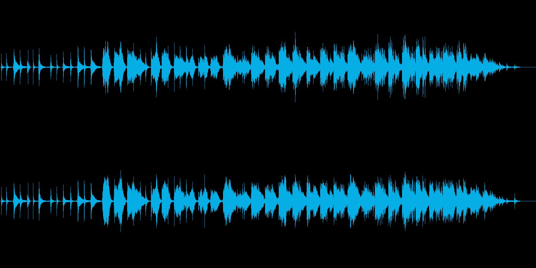 蝉丸の再生済みの波形