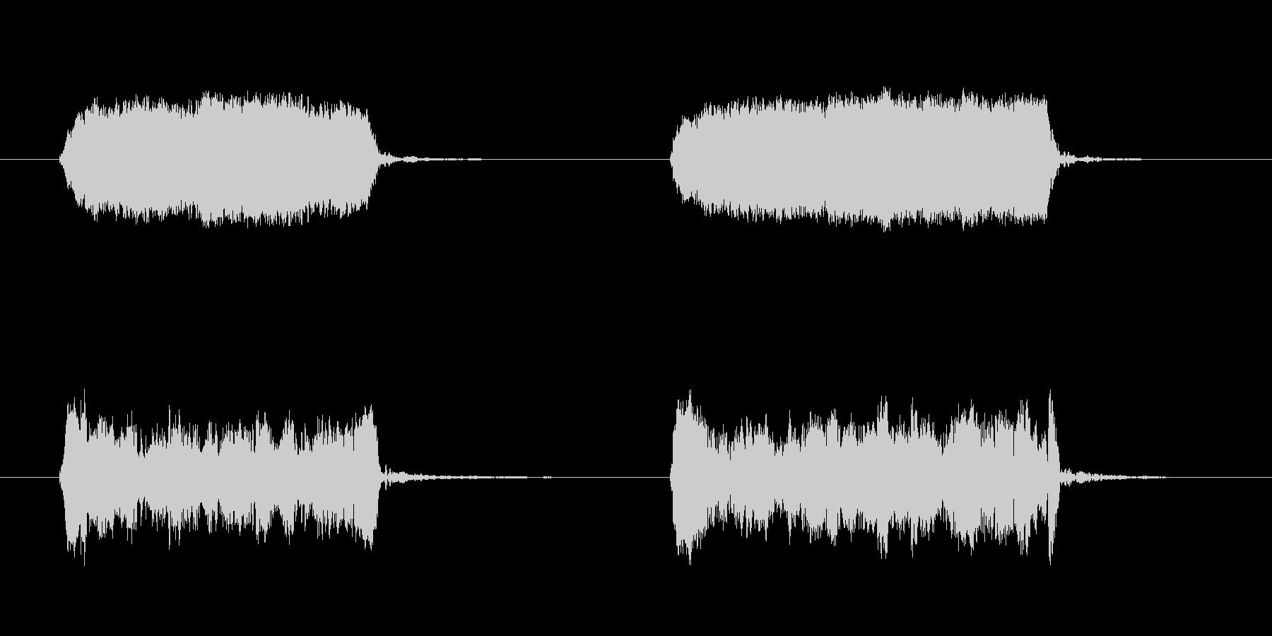 犬のhist:ダブル、W、コミック...の未再生の波形