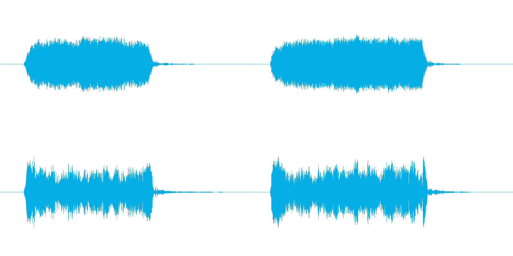 犬のhist:ダブル、W、コミック...の再生済みの波形