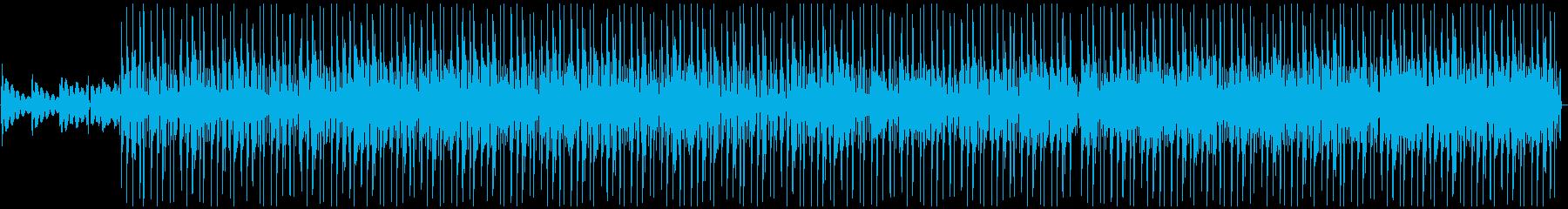 ウォームで優しい感じのビートミュージックの再生済みの波形