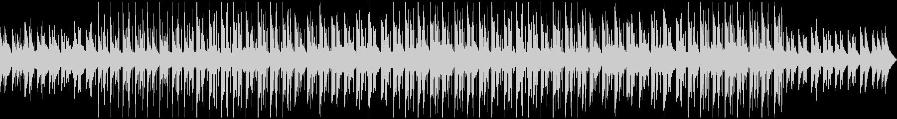 リラックス ピアノ ポップの未再生の波形