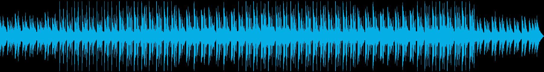 リラックス ピアノ ポップの再生済みの波形