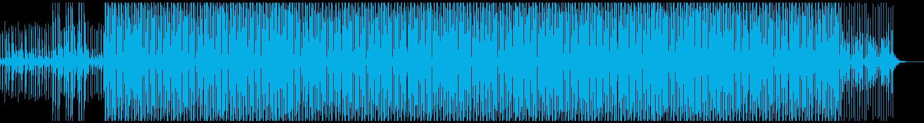 踊り跳ねたくなる爽やかなテクノポップの再生済みの波形