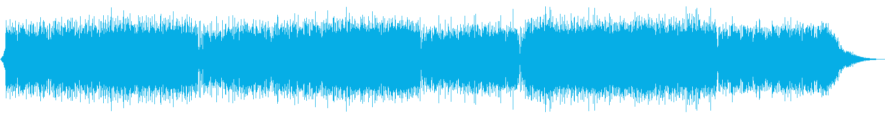 何か楽しそうな予感がするピアノポップの再生済みの波形
