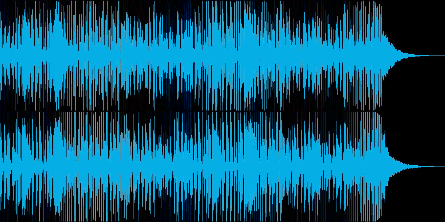 気持ちいい70sファンクのビートの再生済みの波形