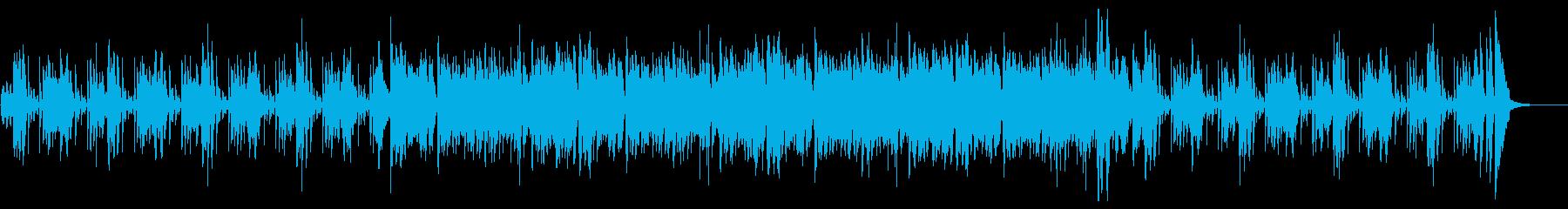 サックスのソリッドで都会的なファンク音楽の再生済みの波形