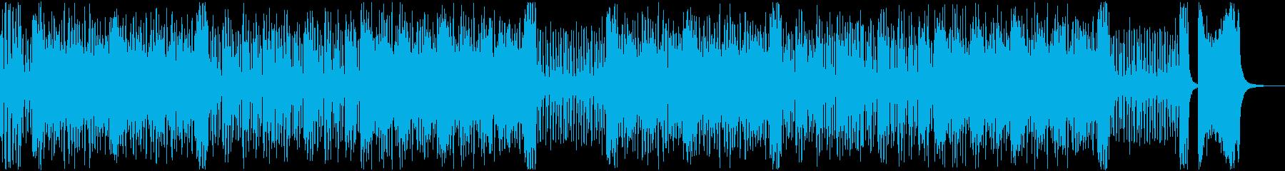 【YouTube】ハプニング!?なジャズの再生済みの波形