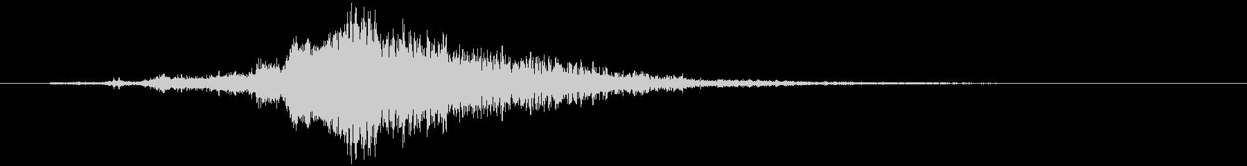 【映画】タイトルに合う効果音の未再生の波形