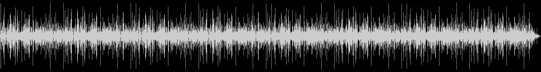 焚き火の音(10分)の未再生の波形