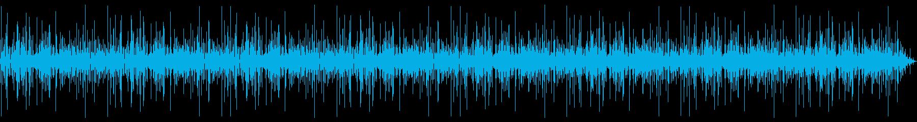 焚き火の音(10分)の再生済みの波形