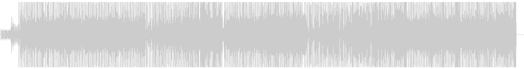 Funky number of the theme of the pick-up man's unreproduced waveform