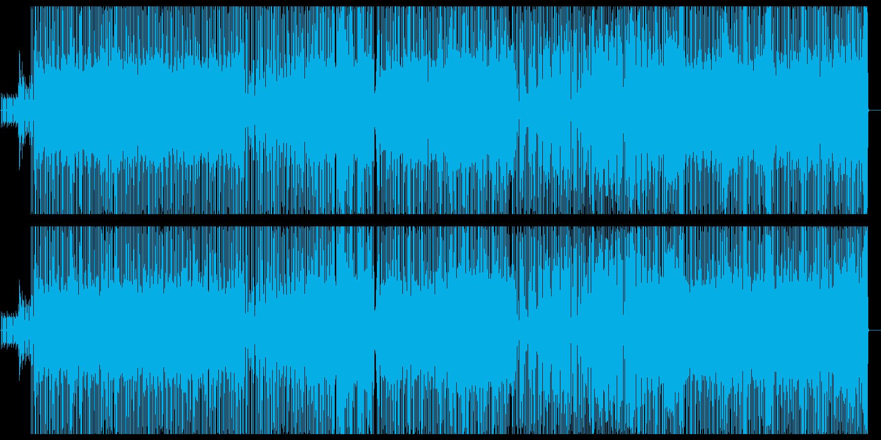 ナンパ男がテーマのファンキーなナンバーの再生済みの波形
