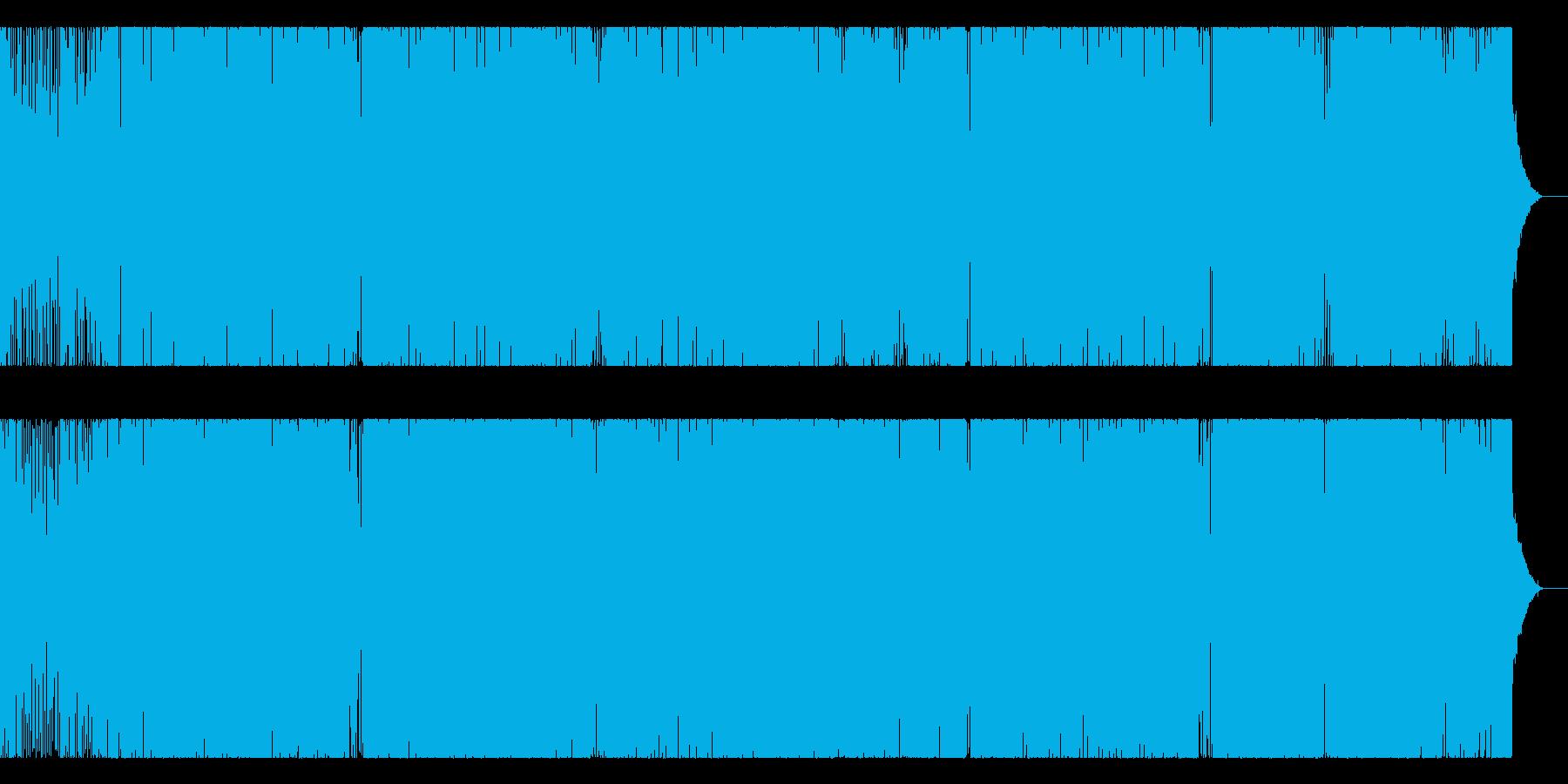 超!ハッピーで高揚感あふれるEDMの再生済みの波形