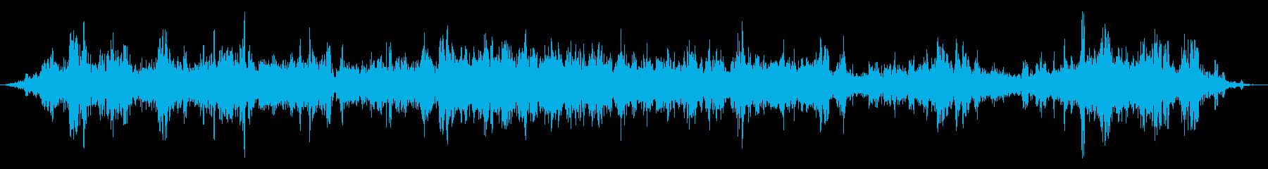 ローハウリングエイリアンウィンドウィンドの再生済みの波形