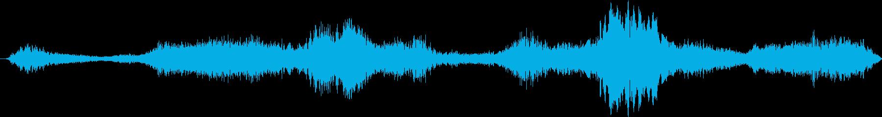 ハーモニックテクスチャーを備えたパ...の再生済みの波形