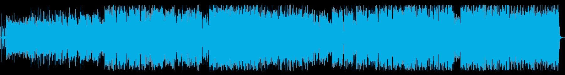 切ない雰囲気のロックバラードの再生済みの波形