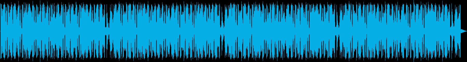 お洒落でクールなハウスミュージックの再生済みの波形